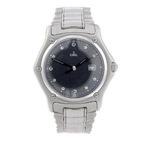 EBEL - a gentleman's 1911 bracelet watch. Stainless