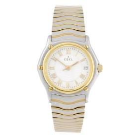 EBEL - a lady's Sport Classic Wave bracelet watch.