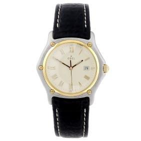 EBEL - a gentleman's 1911 wrist watch. Stainless steel