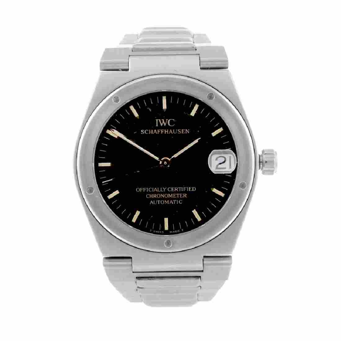 IWC - a gentleman's Ingenieur bracelet watch. Stainless