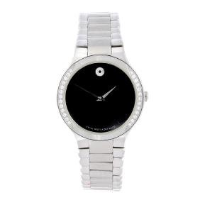 MOVADO - a lady's bracelet watch. Stainless steel case