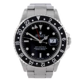 ROLEX - a gentleman's Oyster Perpetual Date GMT-Master
