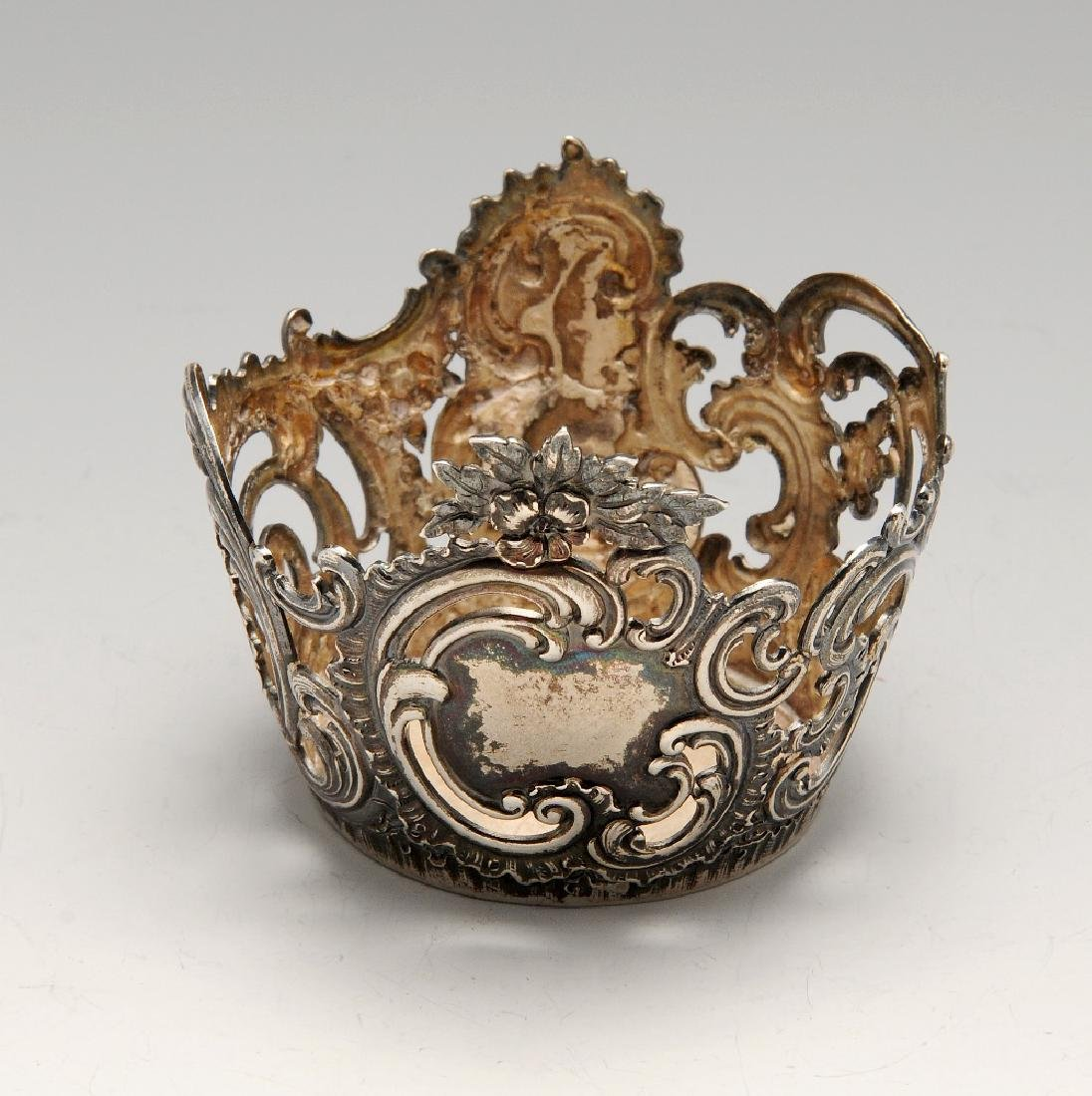 A turn of the century Russian silver mount by Fabergé,