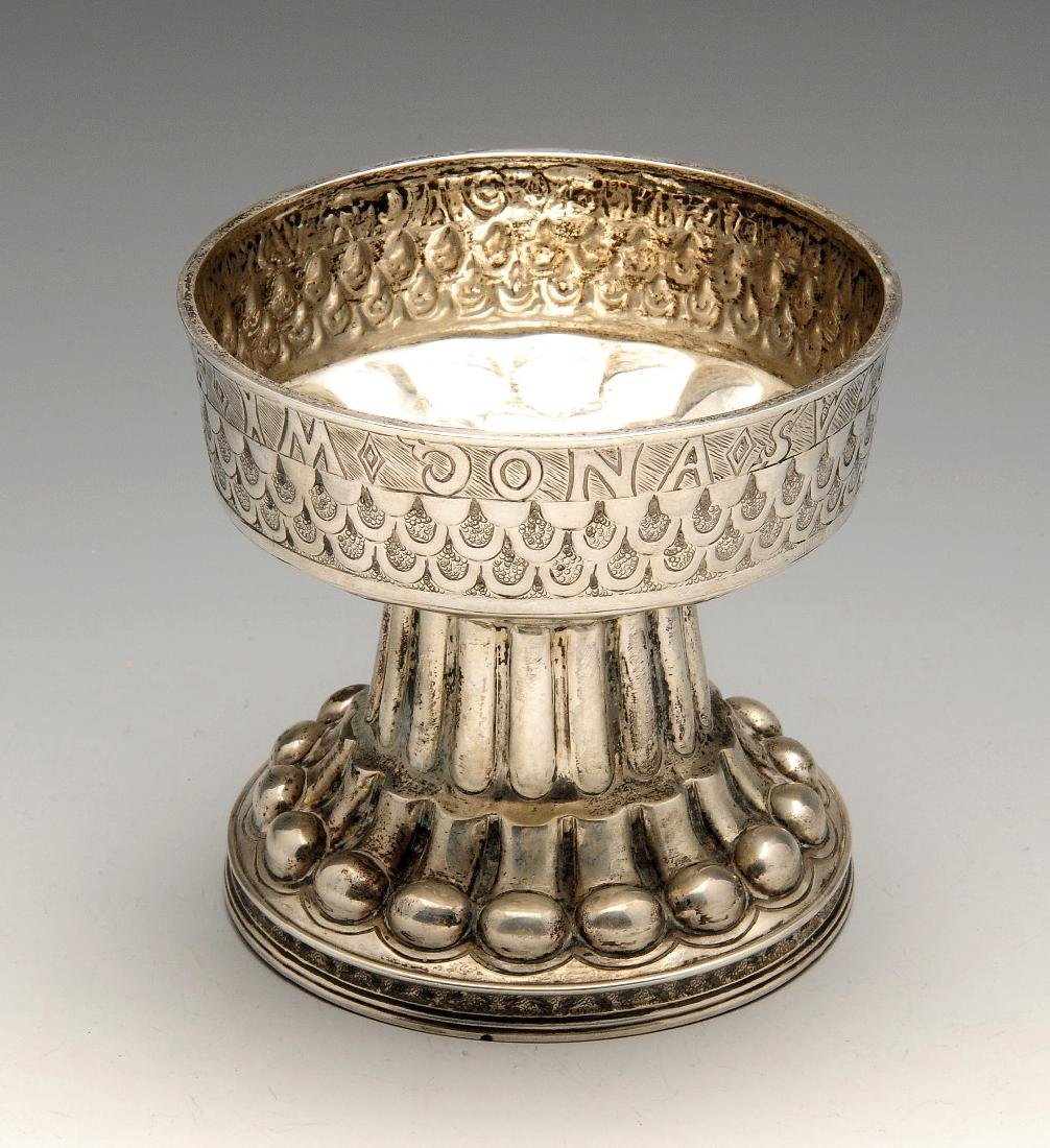 An early twentieth century silver reproduction of The