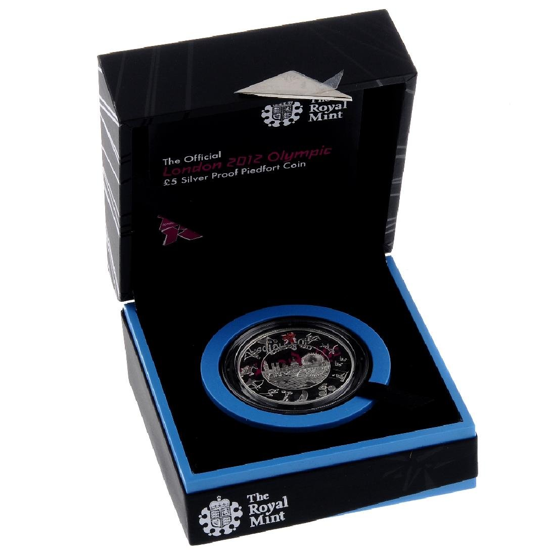 Elizabeth II, Royal Mint Official London 2012 Olympic