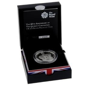 Elizabeth II, Royal Mint, The 60th Anniversary of the