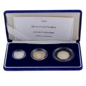 Elizabeth II, Royal Mint, quantity of Piedfort Proof