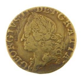 George II, Half-Guinea 1760 (S 3685). Not quite fine,