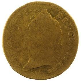 James II, gold Guinea 1685 (S 3400). Fair, portrait
