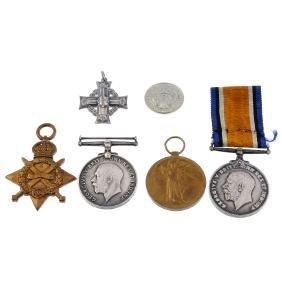 Great War Trio, 1914-15 Star, British War Medal