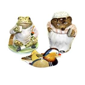 Two Beswick F Warne & Co Ltd Beatrix Potter figures,