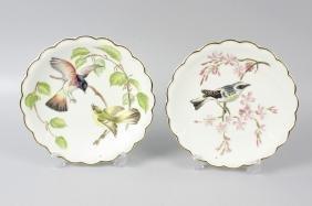 A set of twelve boxed Royal Worcester porcelain 'Birds