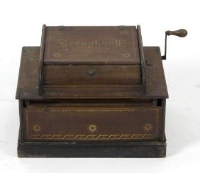 A late Victorian 'English Automatic Seraphone'.  The