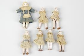 A group of eleven early 20th century German bisque