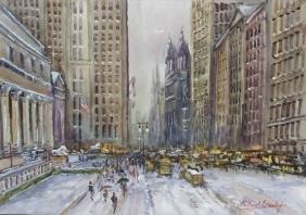 Michael Crawley (modern), Winter scene - New York,
