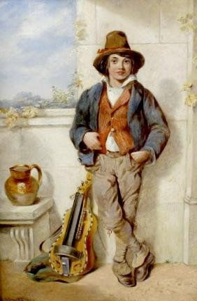 Henry Bright (1810-1873), an oil painting on canvas,
