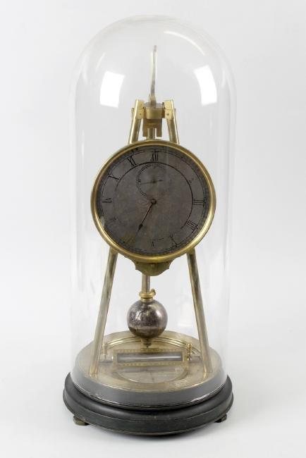 A rare mid 19th century tripod timepiece compendium.No.