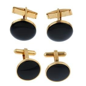 A selection of dress studs. To include cufflinks,