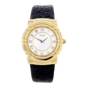 (7219058) PIAGET - a gentleman's Tanagra wrist watch.