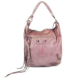 BALENCIAGA - a Classic Day handbag. Crafted from glazed