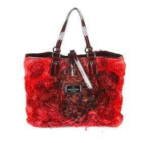 VALENTINO GARAVANI - a large Rosier handbag. Featuring