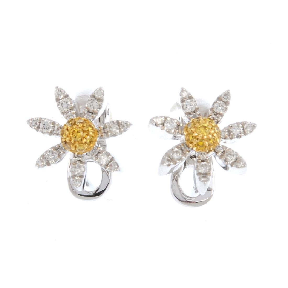(133053-1-A) MAPPIN & WEBB - a pair of 18ct gold