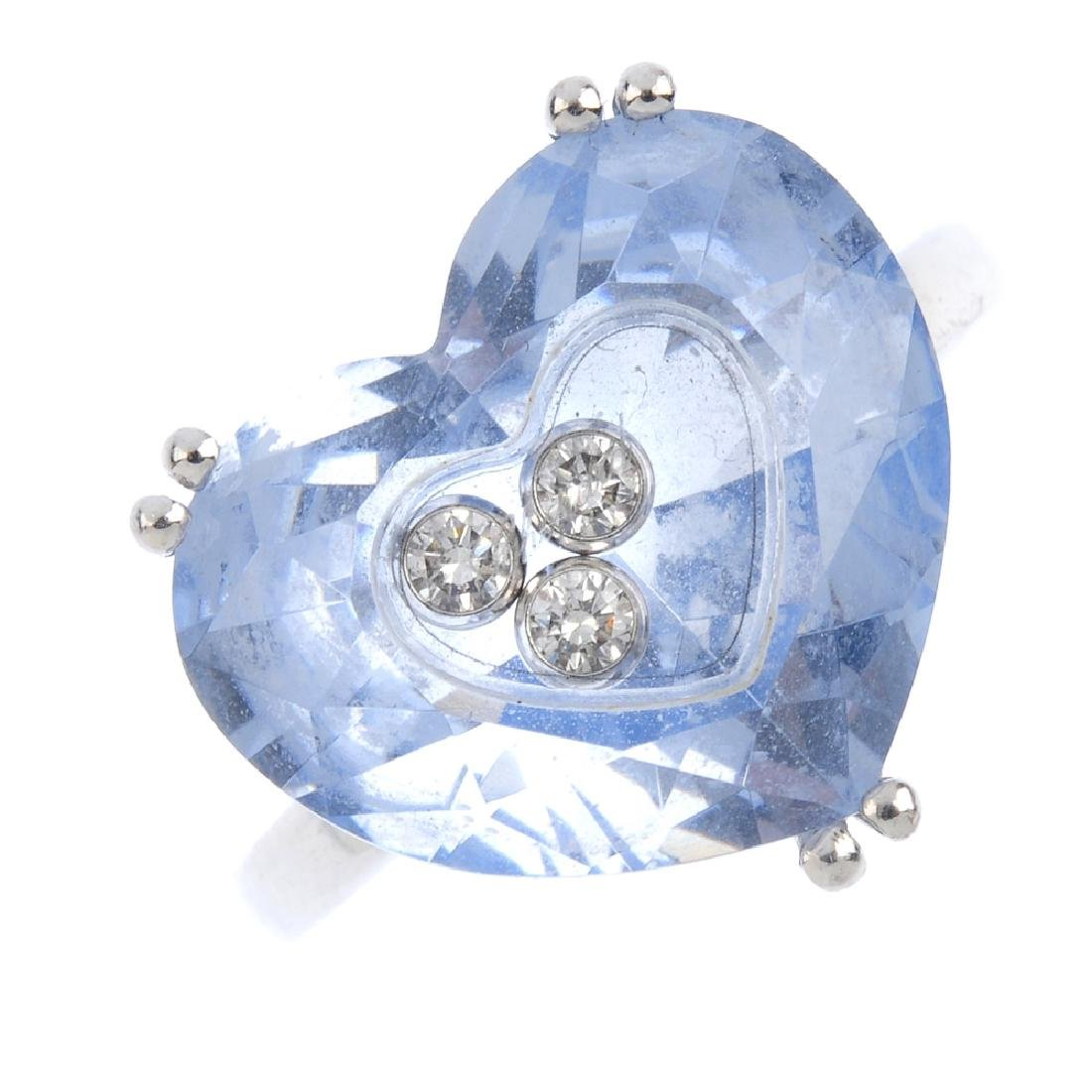 CHOPARD - a 'So Happy' 'Happy Diamonds' ring.