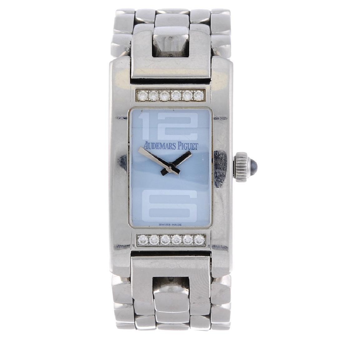 AUDEMARS PIGUET - a lady's Promesse bracelet watch.