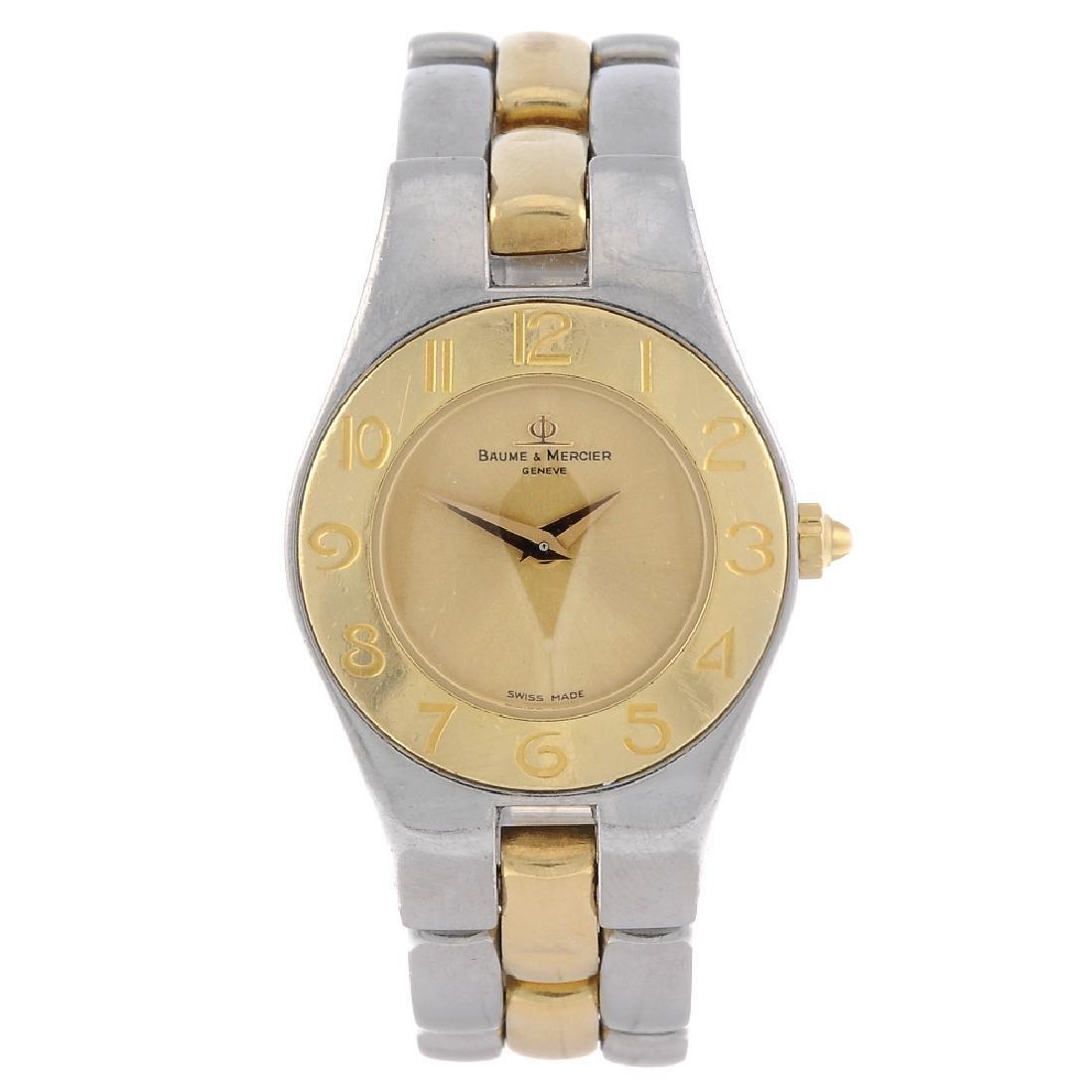 BAUME & MERCIER - a lady's Linea bracelet watch.