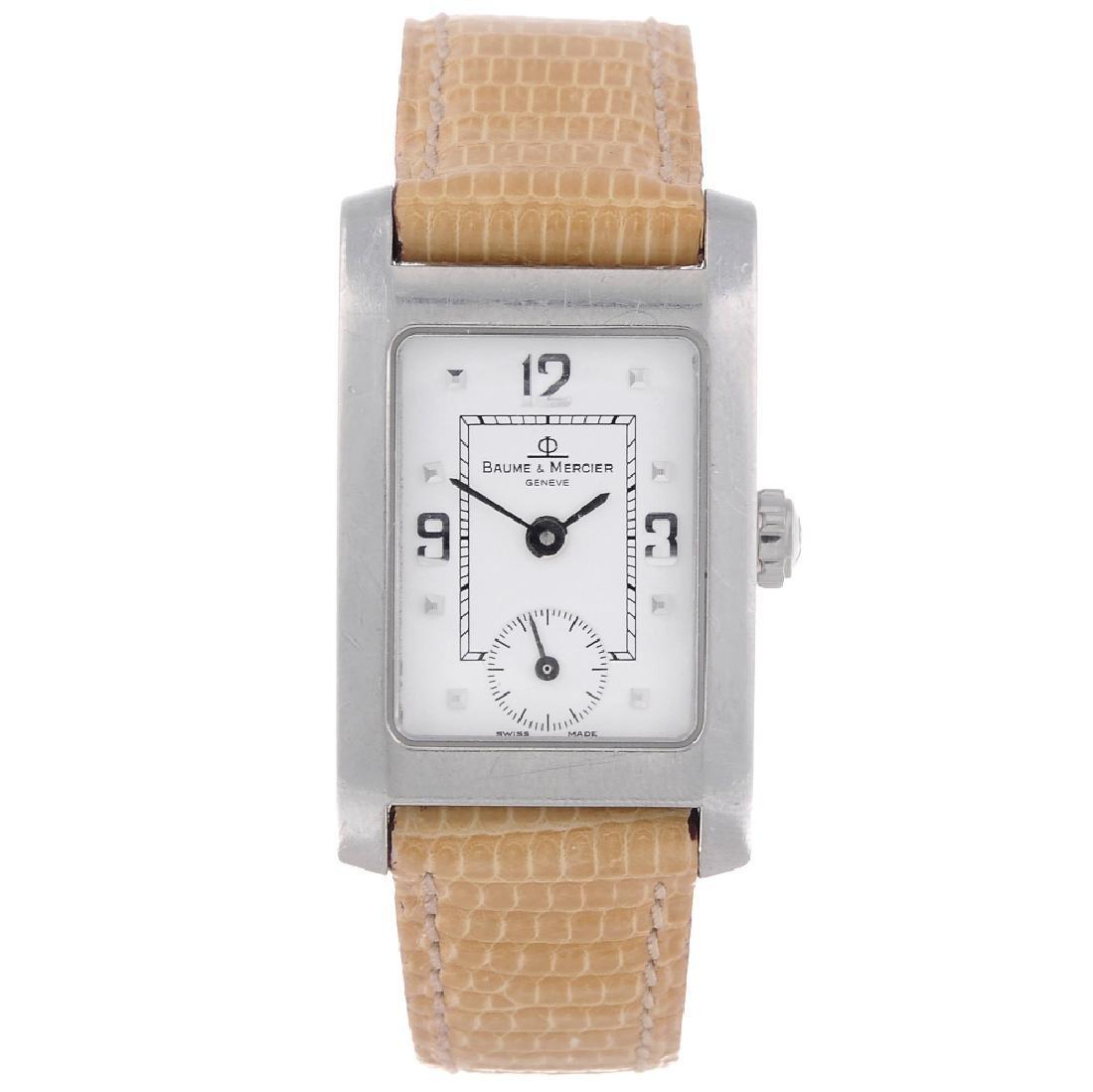BAUME & MERCIER - a lady's Hampton wrist watch.