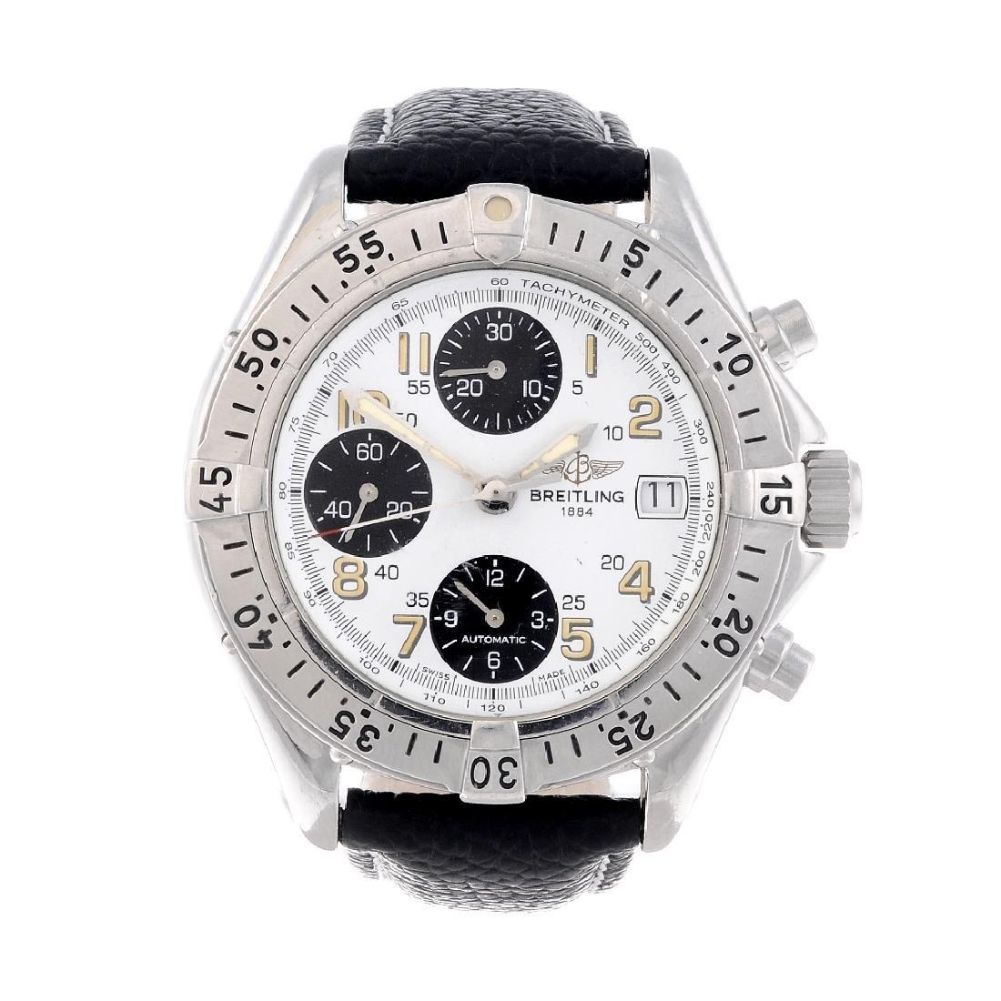 BREITLING - a gentleman's Colt Chrono chronograph wrist