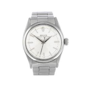 Rolex - A Mid-size Oyster Perpetual Bracelet Watch.