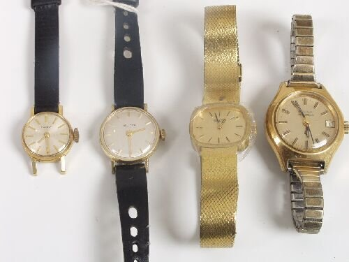 2012: BULOVA - four ladies watches, comprisin