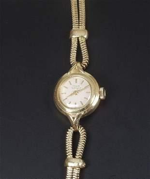 GIRARD PERREGAUX - a ladies 18ct gold 1