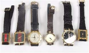 GUCCI - six various lady's and gentlema