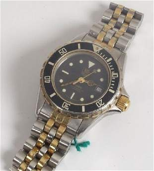 TAG HEUER - lady's bicolour 1000 series