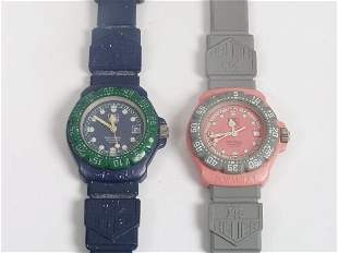 TAG HEUER - two lady's Formula 1 series