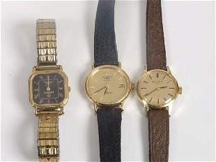 LONGINES - three lady's watches, includ