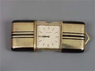 MOVADO - lady's Art Deco silver gilt an