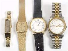 2194: Four modern watches, comprising a lady'