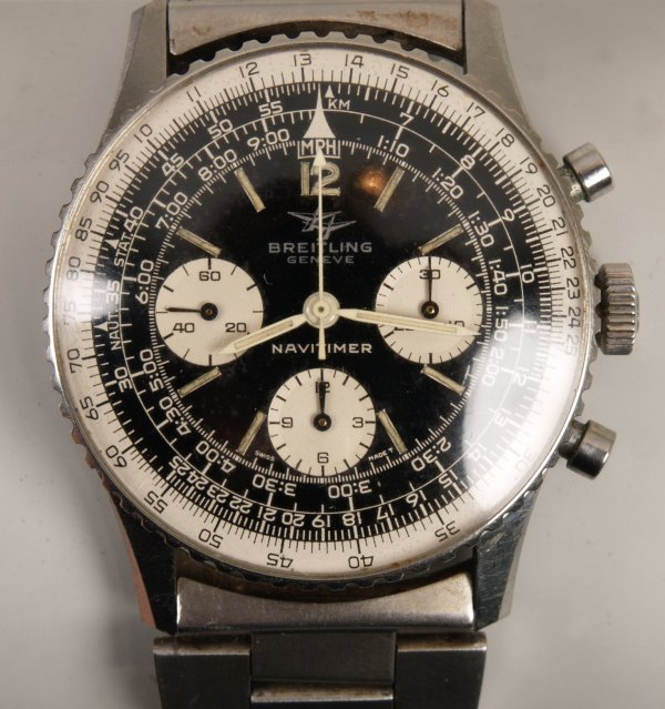 2013: BREITLING - a gentleman's 1960's stainless steel
