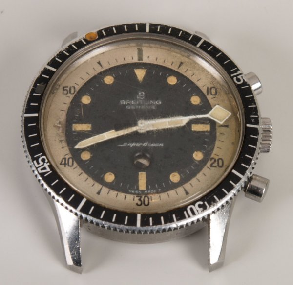 2014: BREITLING - a gentleman's 1960's stainless steel