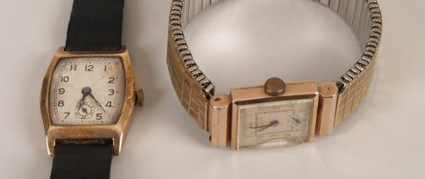 2023: BULOVA - 14k gold plated mid-size wristwatch, the
