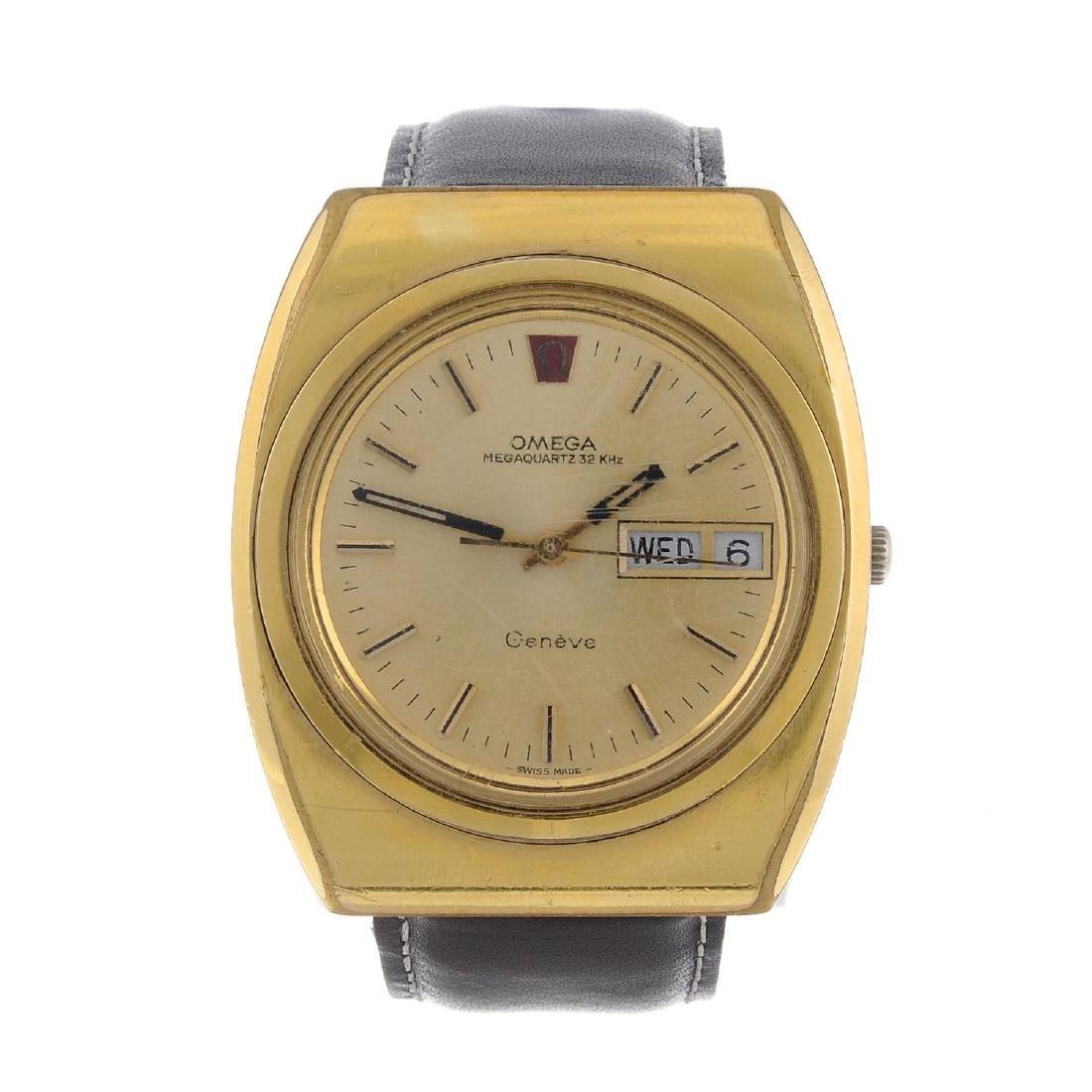 OMEGA - a gentleman's Genève Megaquartz 32Kh wrist
