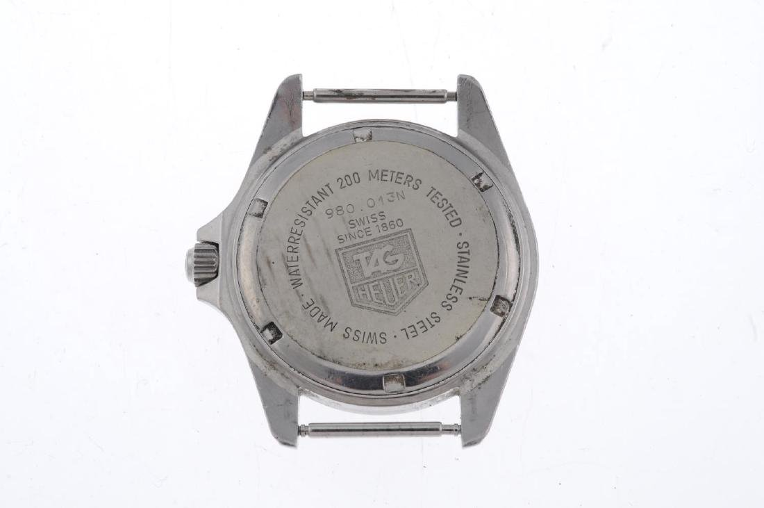 TAG HEUER - a gentleman's 1000 watch head. Stainless - 2