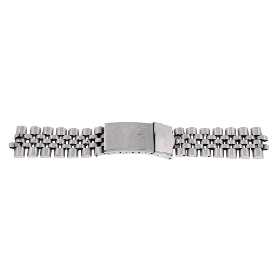 HEUER - a stainless steel bracelet. All recommended for