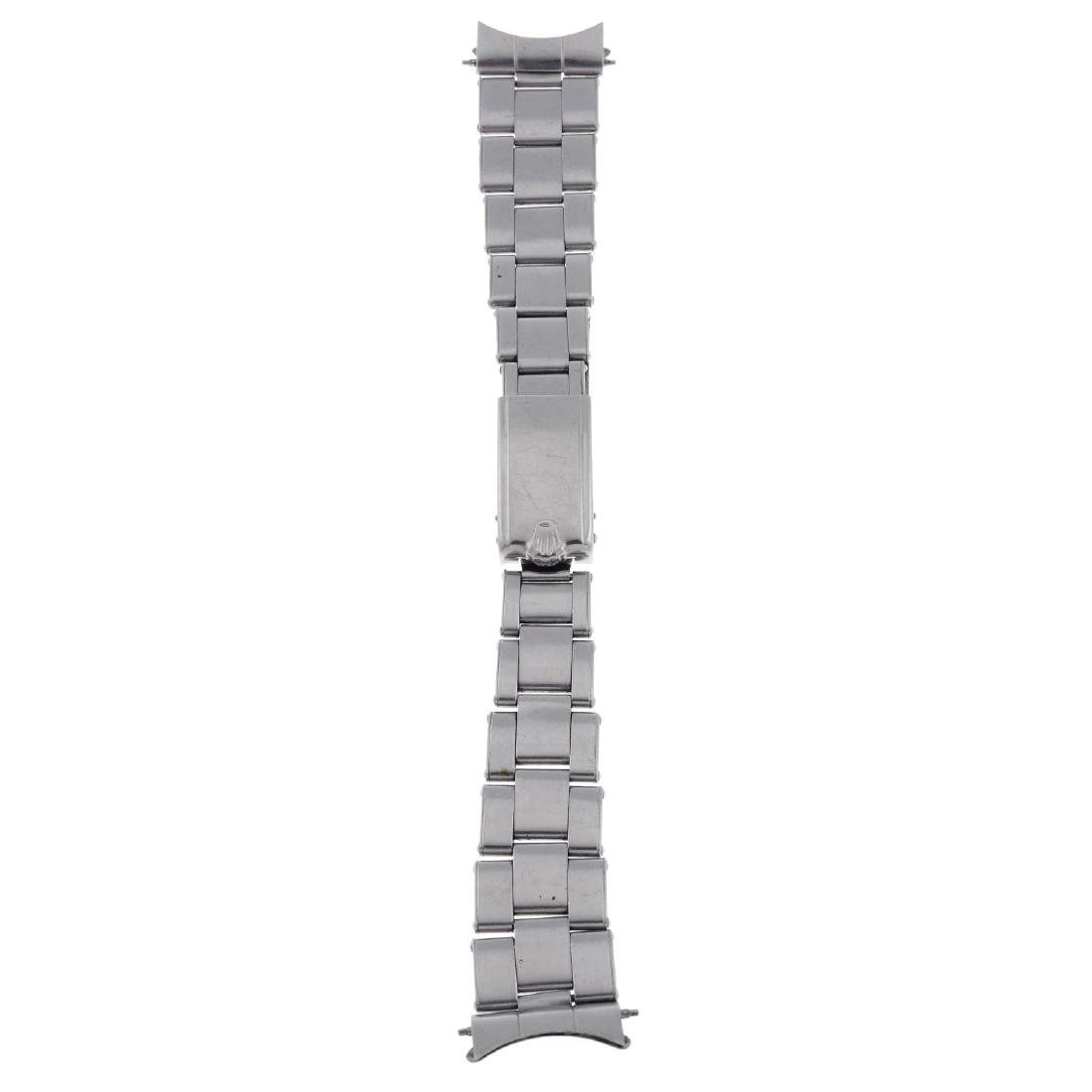 ROLEX - a stainless steel Oyster bracelet with