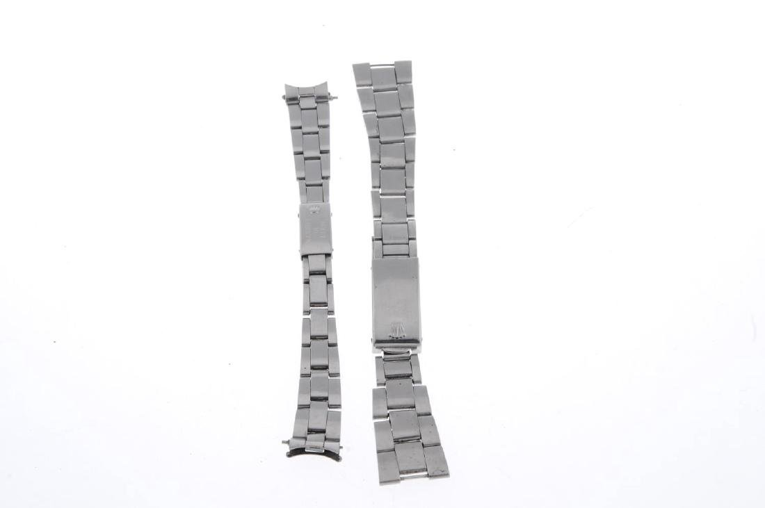 ROLEX - a stainless steel Oyster bracelet with - 3
