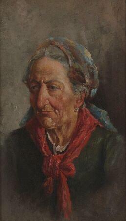 1003: 19TH CENTURY CONTINENTAL Portrait of an elderly p