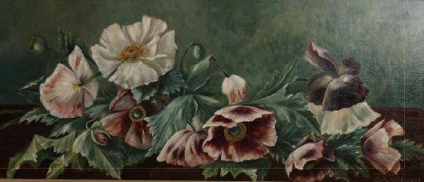 1015: C. MOUSLEY (British, 19th/20th Century) Still lif